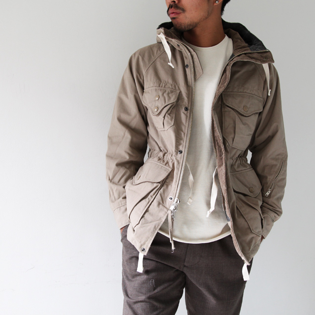 Engineered garments trail parka