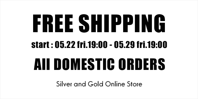 FREE SHIPPING for all domestic oreders