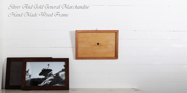 SILVER AND GOLD GENERAL MERCHANDISE - Wood Frame