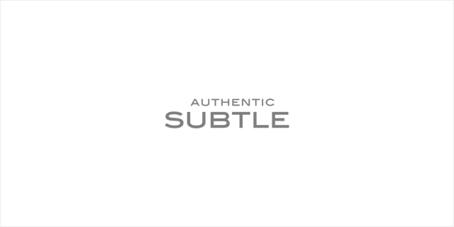 AUTHENTIC SUBTLE 2015F/W